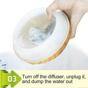 ¿Cómo limpiar el difusor? 3 parte